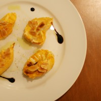 南瓜とマスカルポーネのサラダ